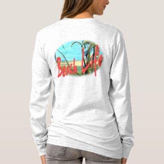 Beach Life Ocean Palms T-Shirt