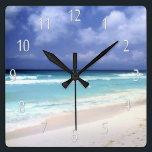 """Beach Life Ocean View Clock<br><div class=""""desc"""">Beach Life Ocean View Clock</div>"""