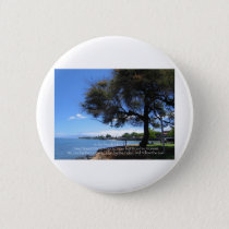 Beach Life Pinback Button