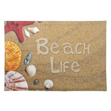 Beach Themed Beach Life Placemat