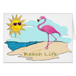 Beach Life Stationery Note Card