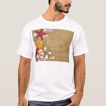 Beach Themed Beach Life T-Shirt