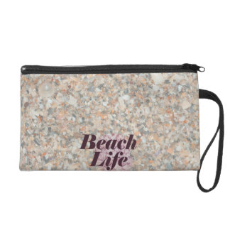 beach life washed crushed shells scallop wristlets