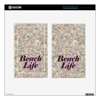 beach life washed crushed shells scallop skin for kindle fire