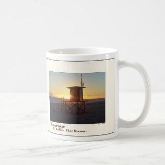Beach Lifeguard Station Courage Mug