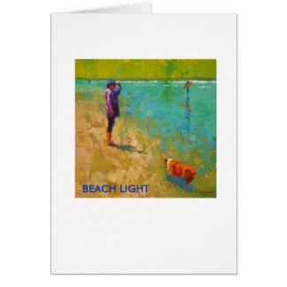 BEACH LIGHT CARD