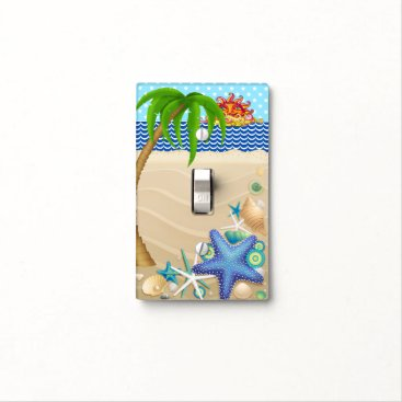 Beach Themed Beach Lightswitch Cover