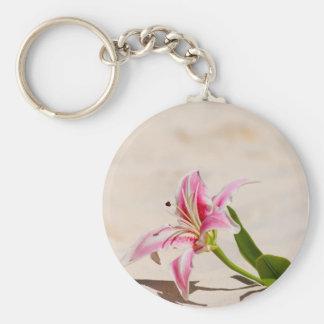 Beach Lily Key Chains