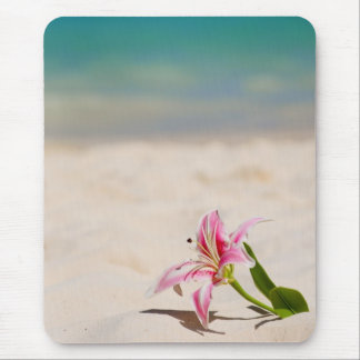 Beach Lily Mouse Pad