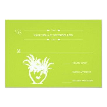 Beach Themed Beach Lime Palm Tree Destination Chalkboard Card