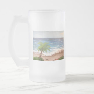 Beach Living Frosted Mug