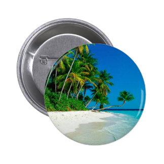 Beach Lost Paradise Button