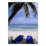 Beach, Lounge Chair, Palm tree, Horizon Over Cards