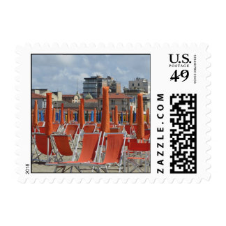Beach Loungers Stamp