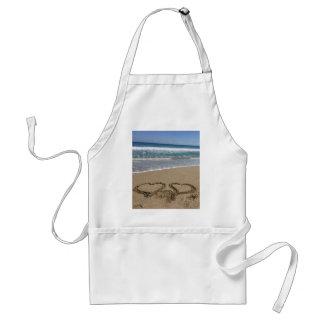 Beach Love Adult Apron