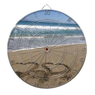 Beach Love Dart Board