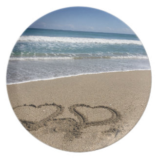 Beach Love Melamine Plate