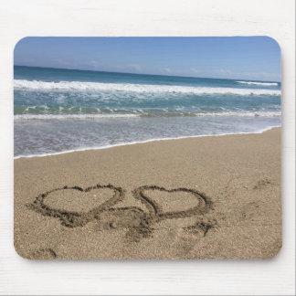 Beach Love Mouse Pad