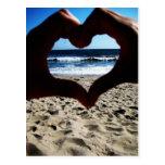 Beach Love Post Card