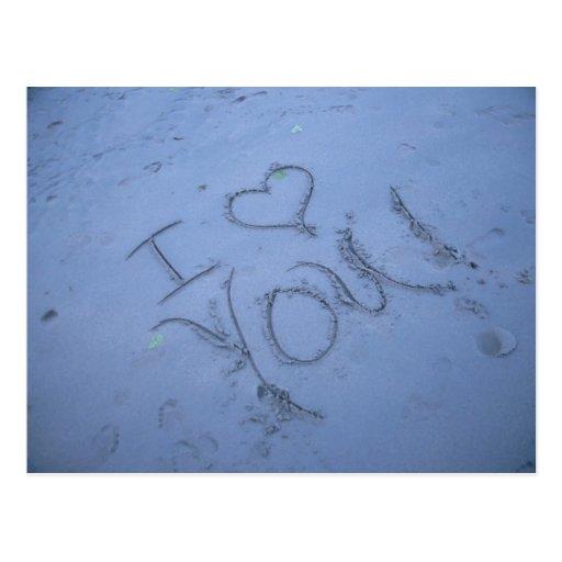 Beach Love Post Cards