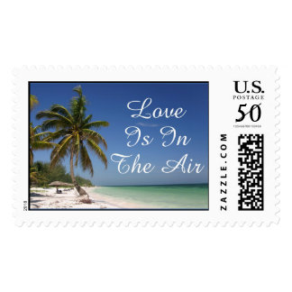 beach love postage