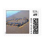 Beach Love Postage Stamp