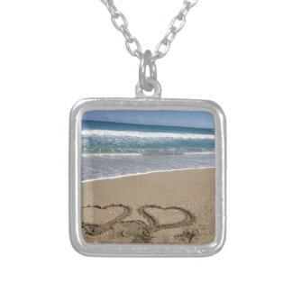 Beach Love Silver Plated Necklace