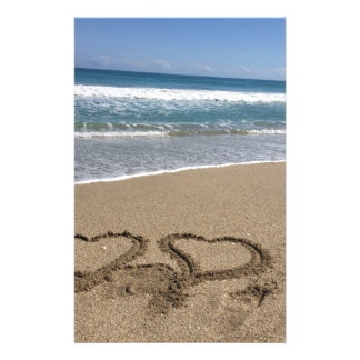 Beach Love Stationery
