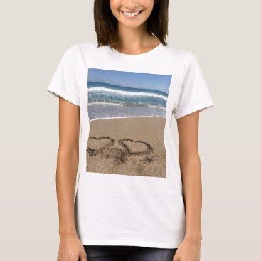 Beach Themed Beach Love T-Shirt