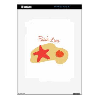 Beach Lover Skins For iPad 2