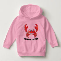 Beach Lover - Toddler Pullover Hoodie