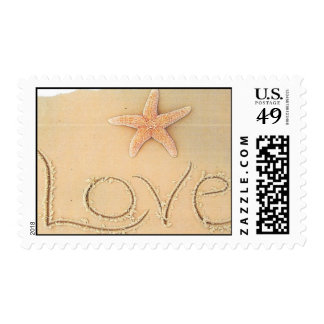Beach Lovers Postage