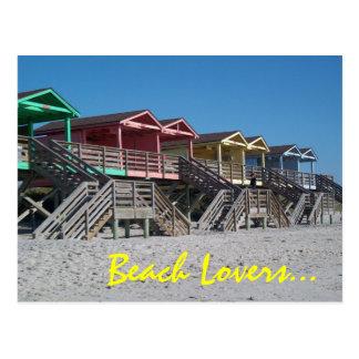 Beach Lovers... Postcard