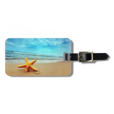 Beach Themed Beach Luggage Tag