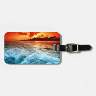 Beach Luggage Tag