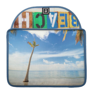 Beach Mac Book Pro 13 sleeve