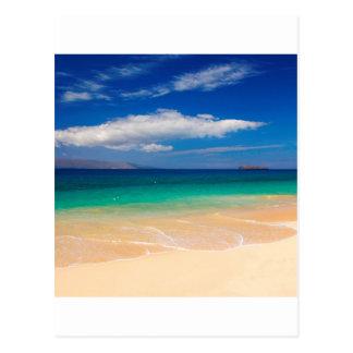 Beach Makena Maui Hawaii Postcard
