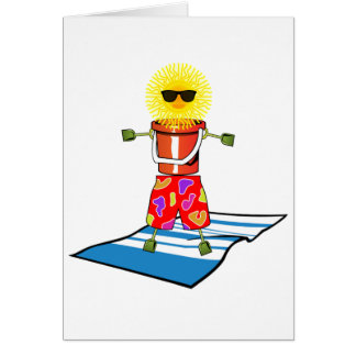 Beach Man Card