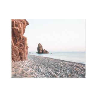 Beach Maro Canvas Print