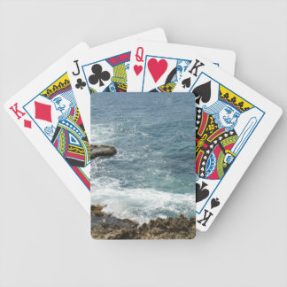 Beach Meets Ocean Bicycle Playing Cards