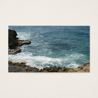 Beach Meets Ocean Business Card