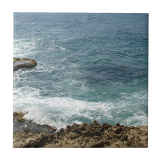 Beach Meets Ocean Ceramic Tiles