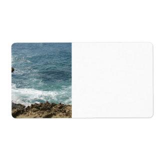 Beach Meets Ocean Label
