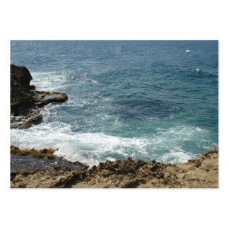 Beach Meets Ocean Large Business Cards (Pack Of 100)