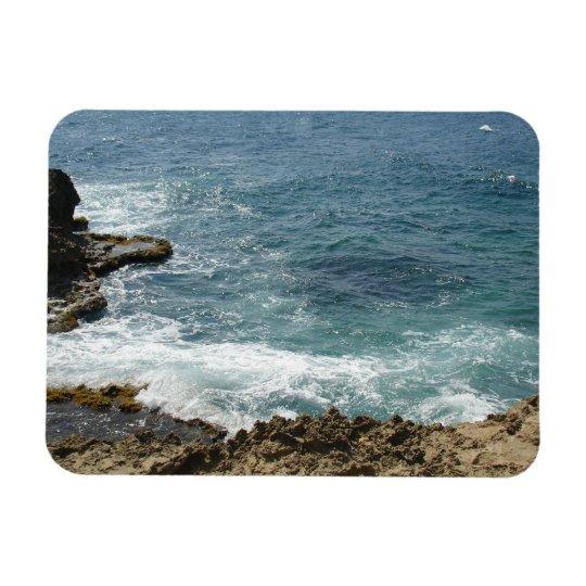 Beach Meets Ocean Magnet