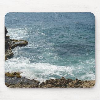 Beach Meets Ocean Mouse Pad