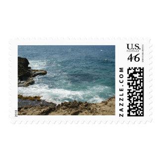 Beach Meets Ocean Stamps