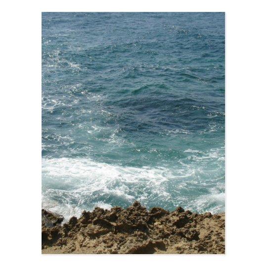Beach Meets Ocean Postcard
