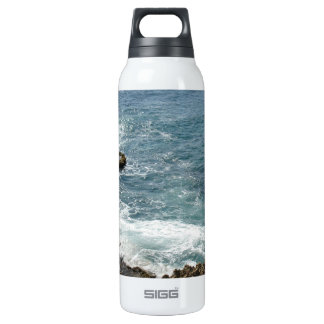 Beach Meets Ocean 16 Oz Insulated SIGG Thermos Water Bottle