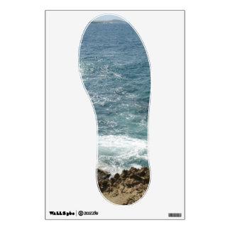 Beach Meets Ocean Wall Sticker